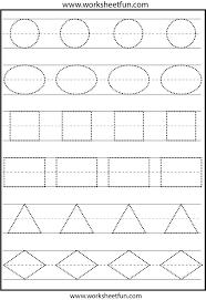preschool tracing worksheets free worksheets library download