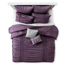 purple velvet comforter sets target