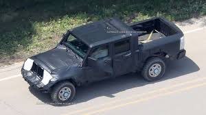 jeep truck spy photos ram truck platform could underpin new jeep wrangler pickup