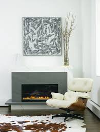shabby chic fireplace ideas living room contemporary with eames
