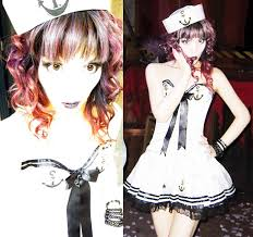 Buy Halloween Costume Goth Sailor Costume Buy Halloween Costumes
