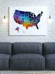 wooden united states wall us map canvas wall wooden united states map wall united
