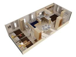 mobile home 3 chambres locationflores mobil home 6 8 pers 3 ch terrasse morbihan
