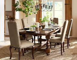 Charming Pottery Barn Style Dining Rooms  In Rustic Dining Room - Pottery barn dining room table