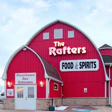 Red Barn Restaurant The Rafters The Homestyle Barn Restaurant In Illinois