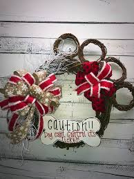 decorative wreaths for the home dog wreath doggie paw wreath doggie door wreath front door