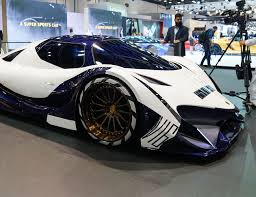 devel sixteen prototype best cars of the 2017 dubai motor show u2022 gear patrol