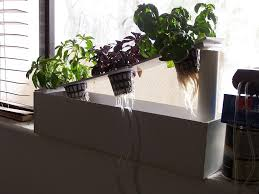 Window Sill Herb Garden Designs Your Own Hydroponic Window Herb Garden System