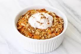 carrot cake baked oatmeal caroline u0027s kitchen
