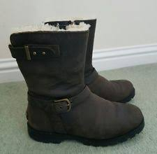 ugg womens boots java ugg australia grandle java leather boots womens 7 ebay