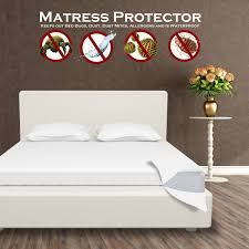 waterproof mattress protector encasement zippered anti bed bug