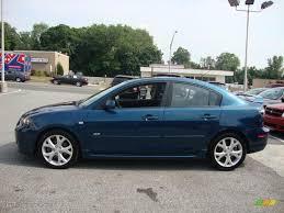 mazda 3 van phantom blue mica 2007 mazda mazda3 s grand touring sedan exterior