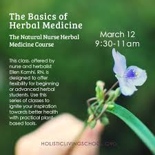 online the natural nurse herbal certification course class one
