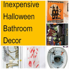 Halloween Party Decoration Ideas Cheap by Halloween Party Ideas For Decorating Your Bathroom Family Finds Fun