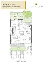 Ground Floor 3 Bedroom Plans Emerald Floors