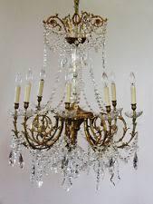 Bronze And Crystal Chandeliers Baccarat Chandelier Ebay