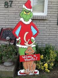grinch and max yard 48 inches