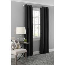 Grommet Curtains Mainstays Blackout Energy Efficient Grommet Curtain Panel