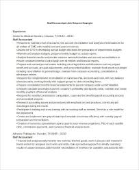 Staff Accountant Resume Sample by Printable Accountant Resume Templates 28 Free Word Pdf