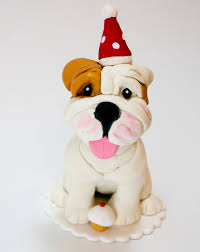 bulldog cake topper adorable bulldog birthday cake topper by dogcaketopper