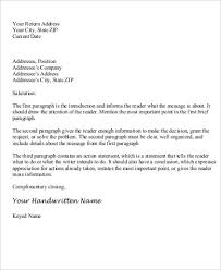 Business Letter Return Address personal letter salutations letters font throughout personal