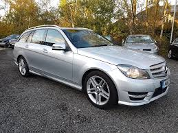 used mercedes c class used mercedes benz c class estate 1 6 c180 amg sport 7g tronic