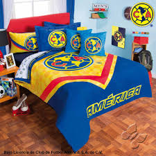 Superhero Twin Bedding Club America Futbol Soccer Fan Boy U0027s Room Bedding Comforter And