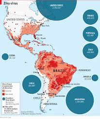Map Of Columbia South America by The Spread Of Zika Virus