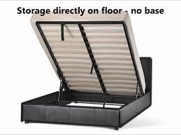 Bed Frame Lift Storage Gas Lift Prado Bed Frame Comfy Living