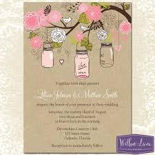 Mason Jar Bridal Shower Invitations 3929 Best Mason Jar Wedding Invitations Images On Pinterest