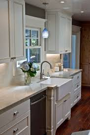 Hanging Light Fixtures For Kitchen Make It Work Kitchen Sink Lighting Through The Front Door