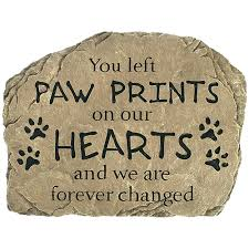 pet memorial pet memorial paw prints