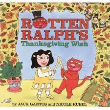 rotten ralph s thanksgiving wish r sound r eally