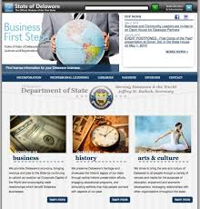 Delaware traveling websites images Common look feel government information center jpg