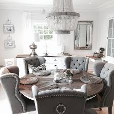 Grey Dining Table Chairs Dining Room Grey Washed Table On Intended In Prepare 19