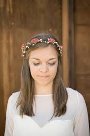summer hair accessories bohemian soft pink floral crown woodland blush summer hair