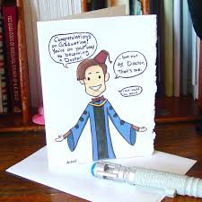 doctor who graduation card eleventh doctor congratulations