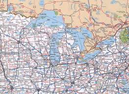 Interstate Map Of United States by Midwest Us Map