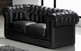 Black Tufted Sofa by Paris Contemporary Black Leather Living Room Furniture Black