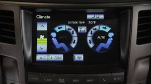 lexus truck 2015 lx 2015 lexus lx 570 navigation control rear ac u0026 climate control