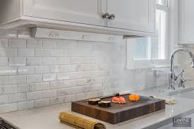how to install a backsplash in the kitchen create a kitchen backsplash without outlets
