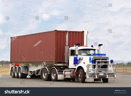large semi truck container load stock photo 2453951 shutterstock
