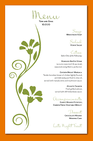 wedding menu cards custom menu card design 01 png scope of work