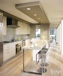 fantastico diseA contemporaneo granito gris muebles blancos modern sleek kitchen