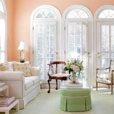 peach paint color for gracious living room living rooms bob