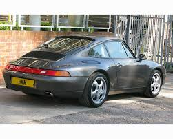 porsche slate grey porsche 993 c2 coupe our stock hendon way motors