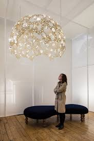 Tord Boontje Chandelier Swarovski And Tord Boontje Present New Lighting Collection At