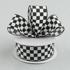 Checkered Flag Ribbon 1 5