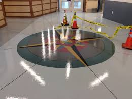 logo floor commercial concrete flooring epoxy repair company