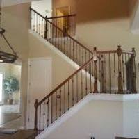 Wood Interior Handrails Wrought Iron Interior Railings For Stairs Hungrylikekevin Com